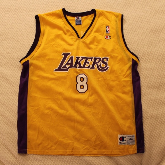official photos b5e0f 497ee Vintage Authentic Champion Kobe Bryant Jersey